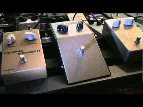 3 Classic sounding Mark 1 replica tone benders. (1) JMI, Germs, and Castledine Electronics (2)