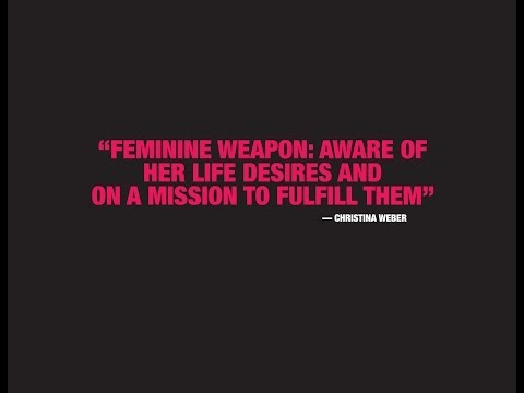FEMININE WEAPON DAY: January 30th at The Cutting Room NYC Christina Weber)
