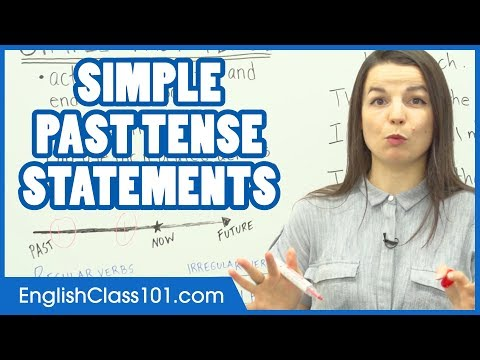 Simple Past Tense - Learn English Grammar