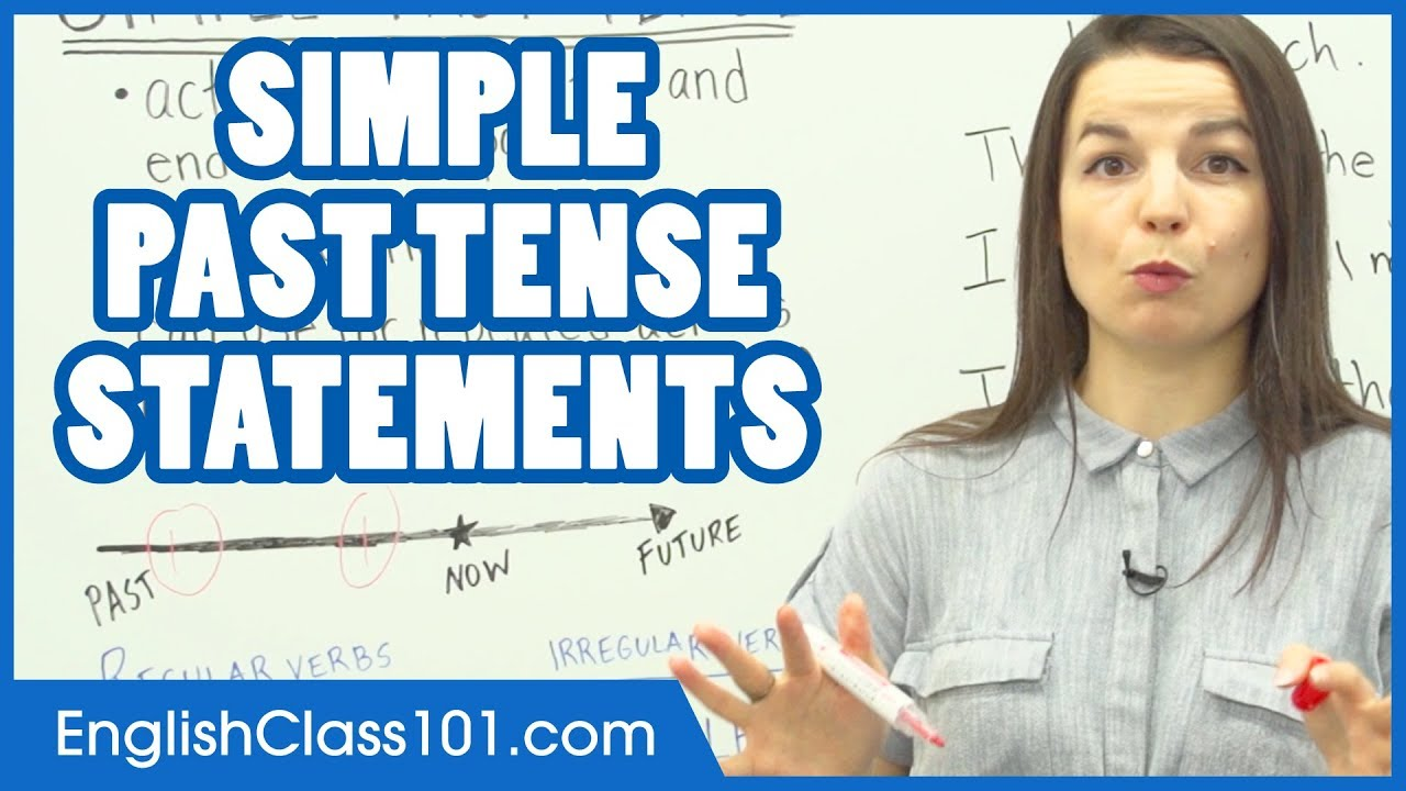 Simple Past Tense Learn English Grammar Youtube