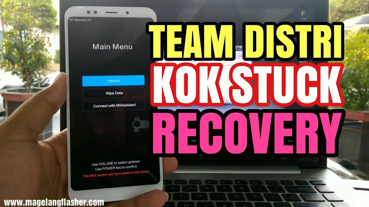 Tutorial Fix Stuck Recovery Xiaomi Redmi 5 Plus (vince) Tanpa Unlock  Bootloader