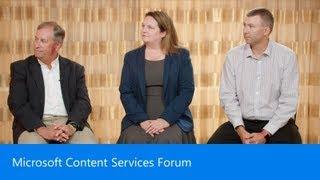 Microsoft Content Services Forum