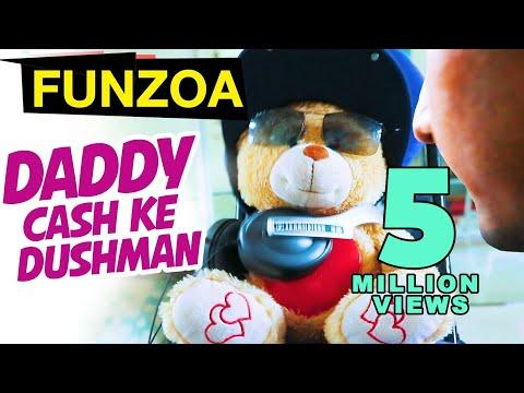 Daddy Cash Ke Dushman Bojo Teddy  | Funny Hindi Song On Father & Son | Funzoa Teddy Videos