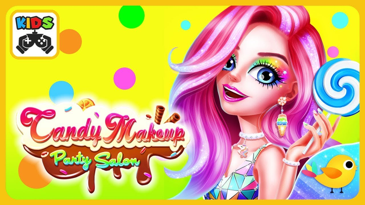Candy Makeup Party Salon * Hairstyles, nails, dress up and makeup ...
