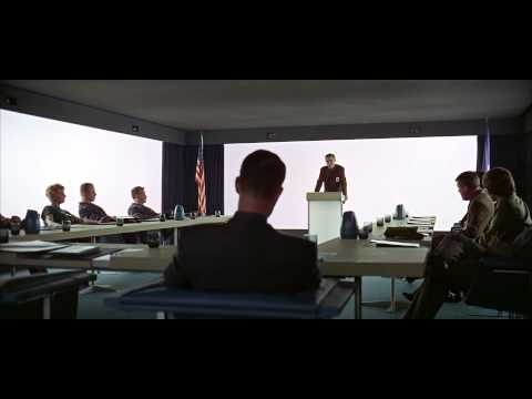 2001: A Space Odyssey  Dr Heywood Floyd Moon Base Briefing