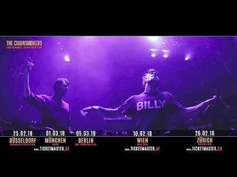 The Chainsmokers Tour 2018 L Live Nation