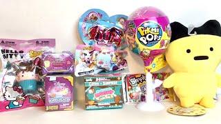 Random Surprise Toys Unboxing Pikmi Pops Filly Smooshy Mushy Disney Shopkins Hello Kitty Blind Bag O