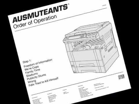 "AUSMUTEANTS - Freedom of Information [album ""Order of Operations"", 2014]"