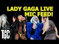Hear Lady Gaga's Real Voice Live - Mic Feed