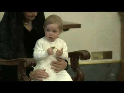 Princess Leonore meets Pope Francis (2015)