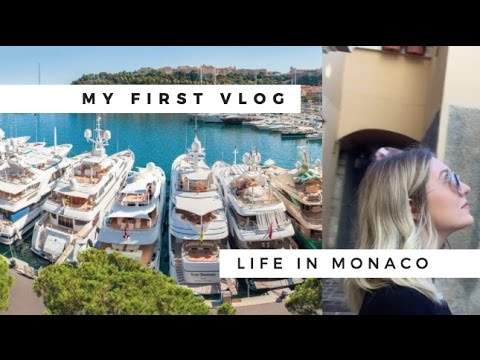 MY FIRST VLOG | LIFE IN MONACO