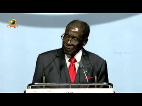 Robert Gabriel Mugabe Full Speech | President of African Union | India-Africa Forum Summit 2015