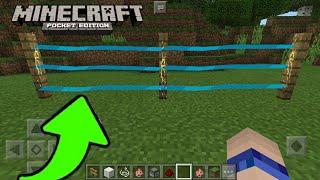 Como Hacer Una Cerca Eléctrica Sin Mods en Minecraft PE 1.1.3 ✔