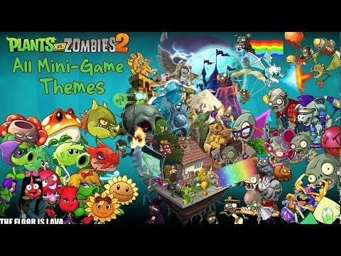 Plants vs. Zombies 2 All Mini-Game Themes | Todas Las Musicas Mini-Game
