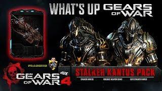 Gears of War 4 l Info.a detalle para Guapos l What´s up l Packs Stalker Inquisidor Kantus l 1080p
