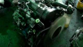 HYUNDAI H-1 D4BH ENGINE COLD START