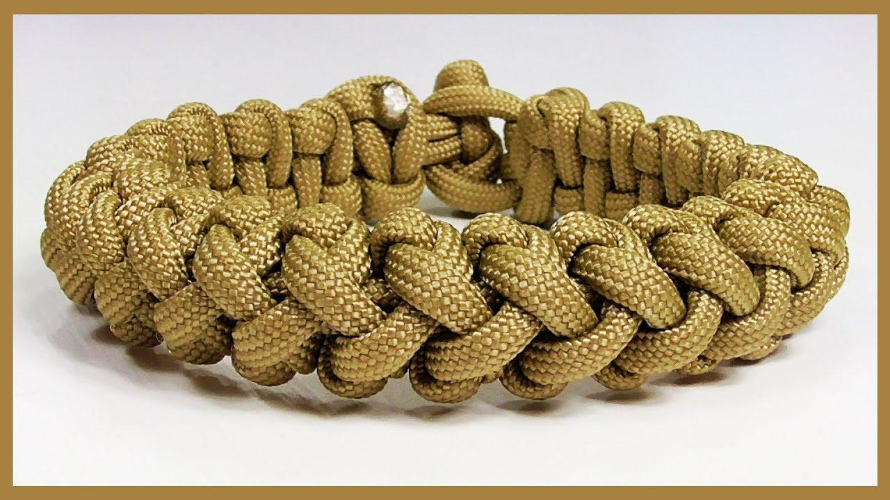 Paracord Bracelet Tutorial Solomon S Turks Head Design