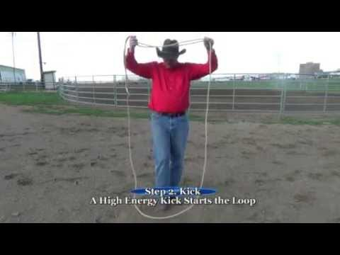 Carlson Trick Roping - Basic Spin Series: How to do the Vertical Loop Spin