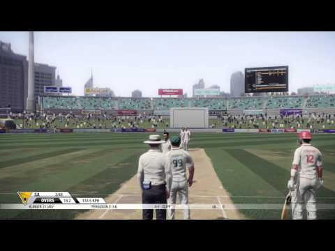 Don Bradman Cricket 14- My Career #1
