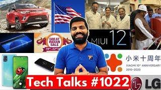 Tech Talks #1022 - 5 Day Battery Life, KUV100 Electric, A51 5G, AirTel WiFi Calls, MIUI 12, Mi Band