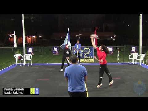 Nada Salama VS Donia Sameh - Speedball Heliopolis Open 2017 - Women's R16