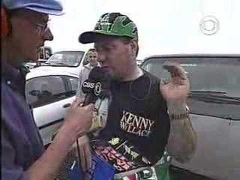 1998 Daytona 500: Ken Schrader post-race interview