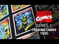 Marvel Universe Trading Cards Series 1 Impel 1990