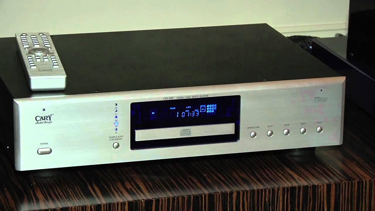 ces 2011 cary audio design cd 500 le lecteur audiophile. Black Bedroom Furniture Sets. Home Design Ideas