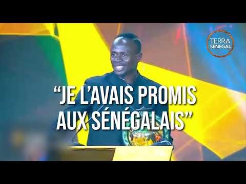 Sadio Mané sacré ballon d'or 2019
