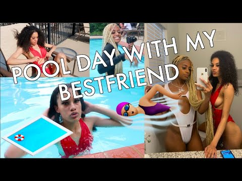 POOL DAY WITH MY BESTIE! + MINI STORY TIME