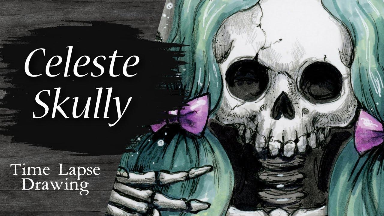 Video - Celeste Skully Time Lapse
