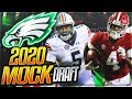 The Eagles Don't Draft a WR or CB Round 1?!    2020 Philadelphia Eagles Mock Draft 1.0