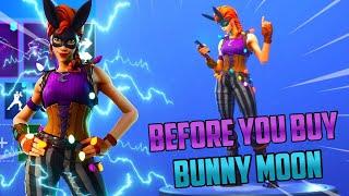 BunnyMoon Skin | Treat Yourself Emote | Before You Buy!! - Fortnite