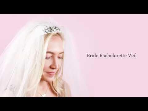 DIY Bride Bachelorette Veil Tutorial   Michaels