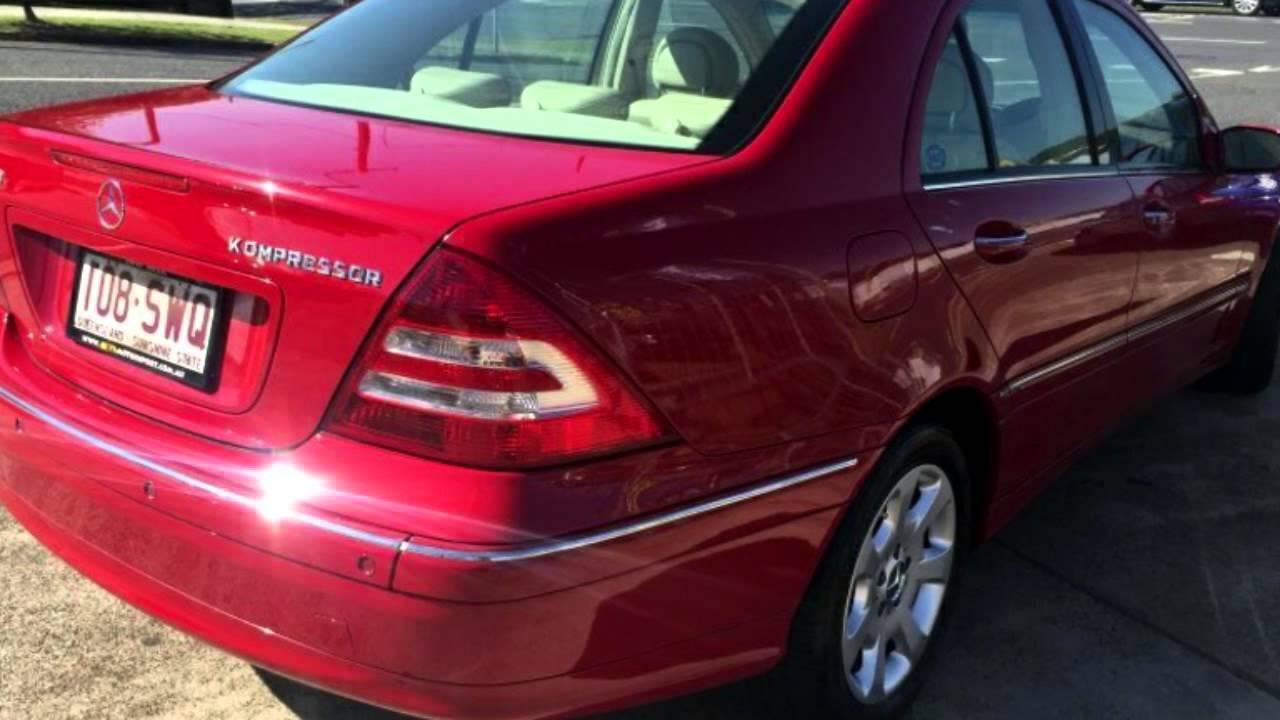 2005 mercedes benz c180 w203 my06 kompressor elegance a for Mercedes benz kompressor 2005