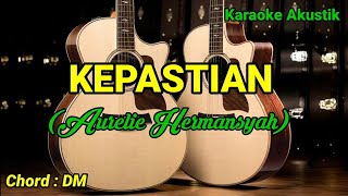 AURELIE HERMANSYAH - KEPASTIAN (Karaoke Akustik)