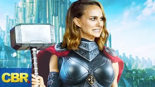 The Importance Of Mjolnir In Thor 4 Love And Thunder
