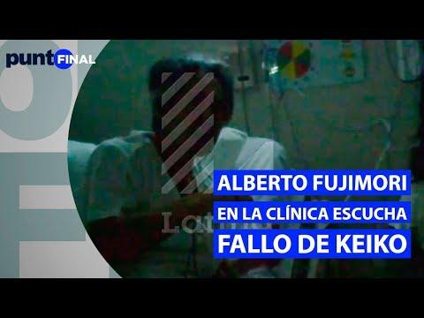 Alberto Fujimori: Video muestra cuál es su estado de salud y cómo siguió el fallo contra Keiko