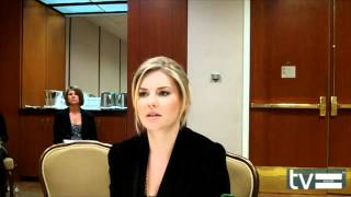 Elisha Cuthbert (Happy Endings Season 2) Interview - March 2012