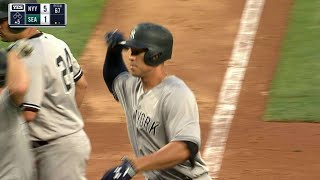 Judge sends a three-run homer into orbit