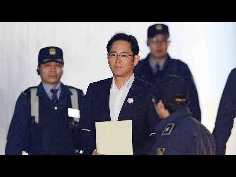 Former Samsung Electronics vice chairman Lee Jae-yong guilty of bribery
