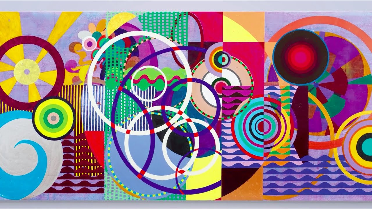 The Bold Bright Displays of Beatriz Milhazes