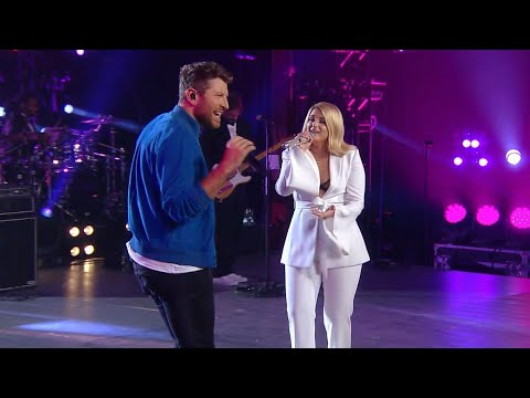 Watch Meghan Trainor and Brett Eldredge Team Up for a 'Let You Be Right' Duet Mp3