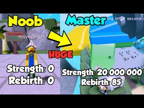 Strongest Player On Leaderboard! 20 Million Strength! - Weight Lifting Simulator 4