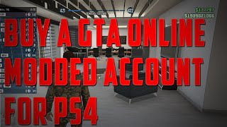 How To Buy A GTA 5 Online Modded Account For PS4 - CHEAP AND RELIABLE! - GTA5MODDEDACCOUNTSPS4.com