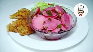 МАРИНОВАННЫЙ РЕДИС / Вкуснейшее дополнение к любому мясу / Простые рецепты  - Волшебная еда