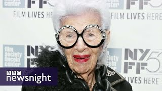 Iris Apfel: The 93-year-old fashion icon - Newsnight