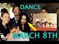 8 марта, в школе. Парни зажигают зал))
