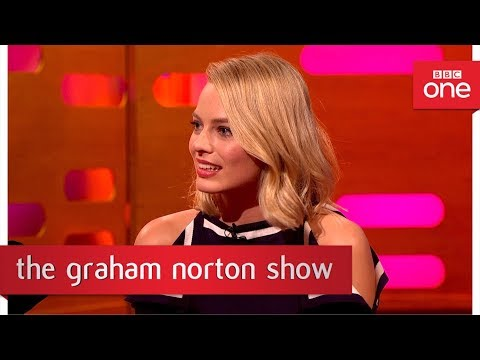 Margot Robbie TATTOOS production staff!  – The Graham Norton Show: 2017 – BBC One
