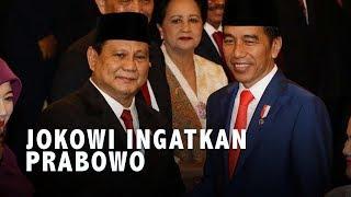 Jokowi Ingatkan Prabowo: Jangan Banyak Impor di Bidang Pertahanan